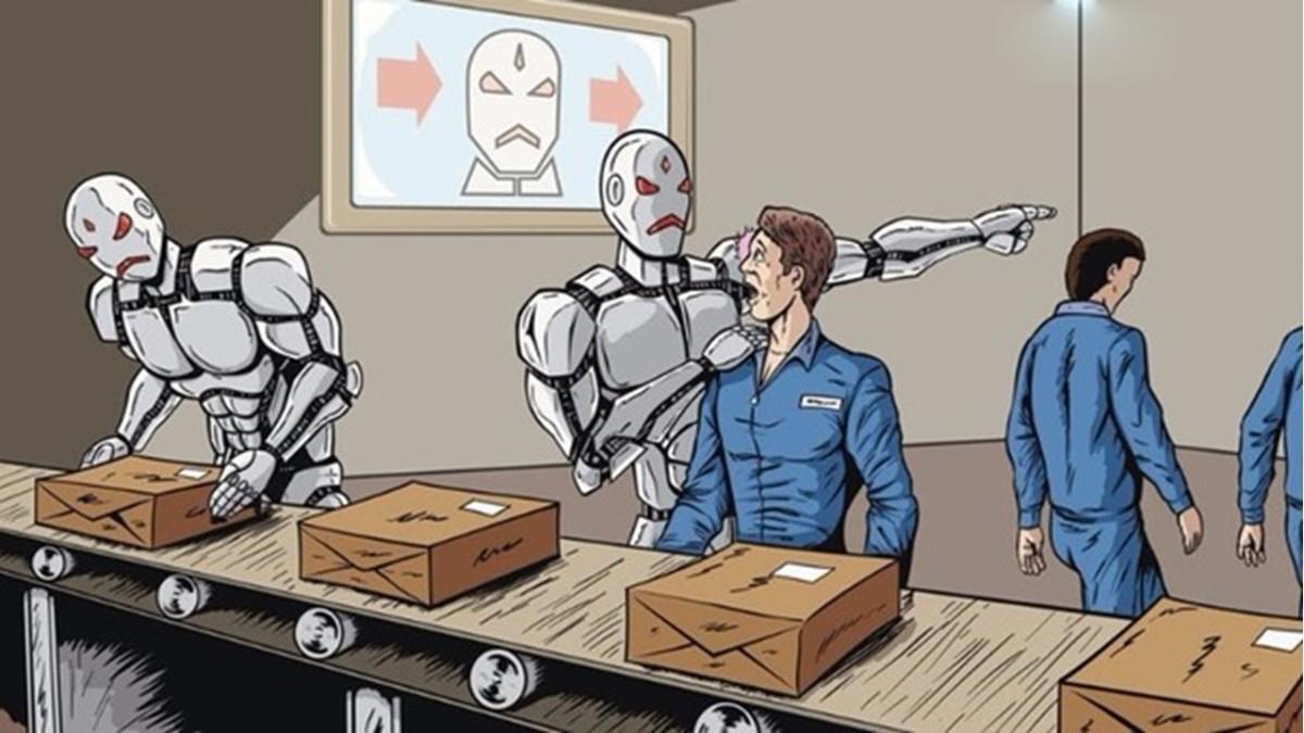 ¿Dañarán los robots las condiciones laborales de nuestrostrabajos?